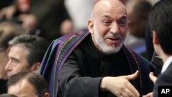 Afganistan Devlet Başkanı Hamid Karzai Chicago'da düzenlenen son NATO zirvesinde