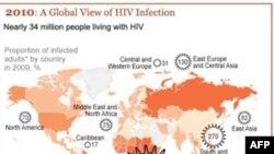 Bản đồ AIDS thế giới