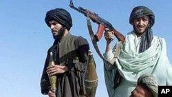 阿富汗塔利班武装人员(资料照片)