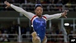 美國體操選手西蒙拜爾斯已正式躋身於世界最佳體操運動員之列。