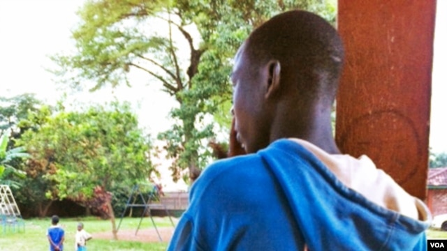 A 15-year old boy accused of witchcraft in the Central African Republic came to a home for street children in Bangui after suffering abuse at home. Photo: G. Joselow (VOA)