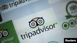 The logo for a travel website company TripAdvisor Inc is shown on a computer screen in this illustration photo in Encinitas, California May 3, 2016. REUTERS/Mike Blake/File Photo