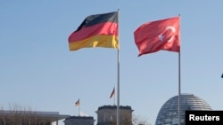 Germany Turkey flag
