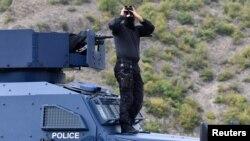 Specijalne snage kosovske policije na prelazu Jarinje