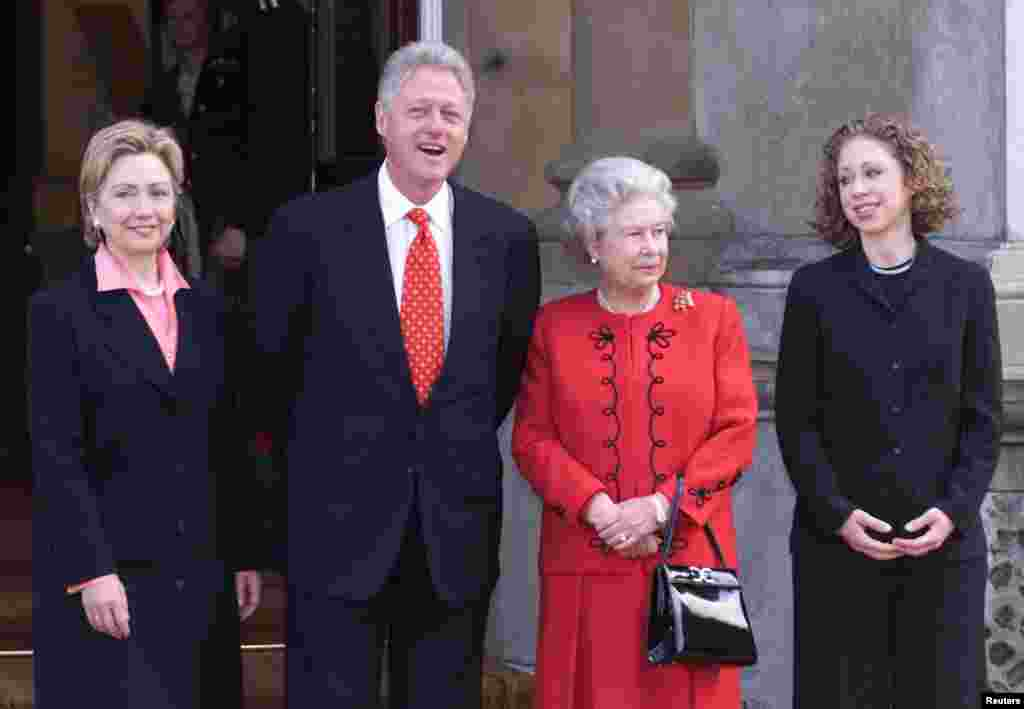 შეხვედრა პრეზიდენტ კლინტონთან, 2000 წ.