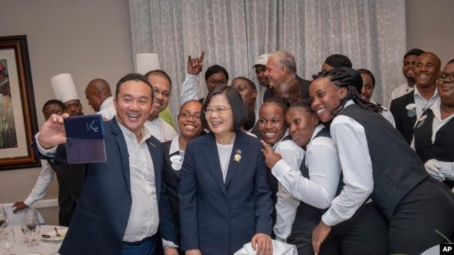 美台共組團隊出訪 防止小國轉而承認北京