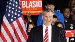 Thị trưởng tân cử New York Bill de Blasio