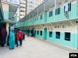Salah satu sekolah di Kenya. (Foto: VOA)