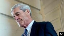rocureur spécial Robert Mueller a décidé de s'appuyer sur un grand jury constitué au sein d'un tribunal de Washington, 21 juin 2017.