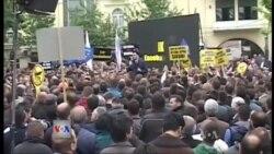Protestë e opozitës