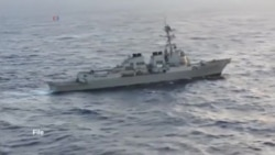 عبور ناوشکن آمریکا از آب های مورد مناقشه دریای جنوبی چین و واکنش پکن