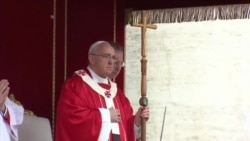 POPE PALM SUNDAY VOSOT