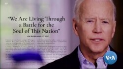 Soul of Nation at Stake, Biden Says, as he Launches Presidential Bid