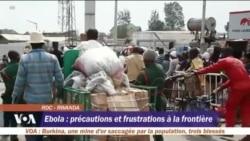 Ebola: précautions et frustration à la frontière