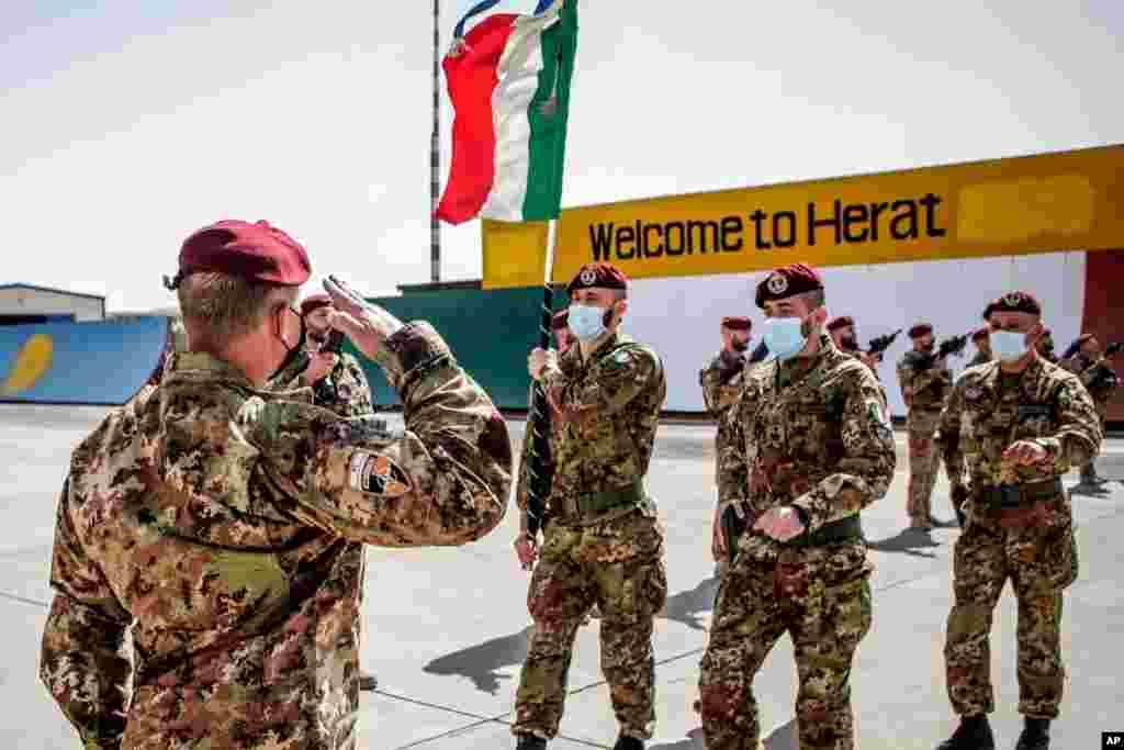 پس از قریب به ۲۰ سال، خروج آخرین نیروهای ایتالیایی و آلمانی از افغانستان