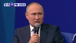 Manchetes Americanas 31 Janeiro: Vladimir Putin troçou de lista americana