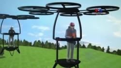 SHORT VIDEO: Անձնական թռչող մեքենաները