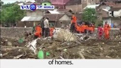 VOA60 World - Indonesia: Rescuers continue to search for survivors of a flash flood