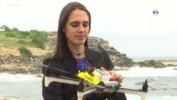 SALUD/CIENCIA: Drones ayudan salud de ballenas