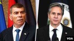 وزیران خارجه آمریکا (راست) و اسرائیل - آرشیو