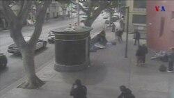 Revelan videos de muerte de indigente
