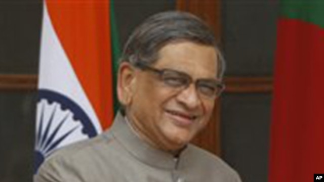 Indian Foreign Minister S.M Krishna (file photo)