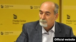 Milan Ćulibrk, glavni urednik nedeljnika NIN (Foto: Medijacentar Beograd)