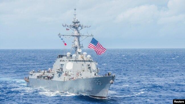 """评估报告称美国海军及其合作伙伴正受到中国黑客的""""网络攻击"""""""