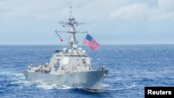 미 해군의 맥캠벨 유도미사일 장착 구축함. (자료사진)