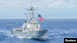 Американский ракетный эсминец USS McCampbell