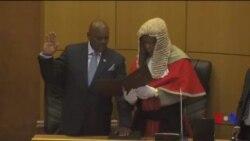 Investiture du nouveau président de Botswana (vidéo)