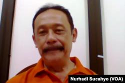 Kepala Dinas Kesehatan Kabupaten Sleman, Joko Hastaryo. (Foto: VOA/Nurhadi Sucahyo)