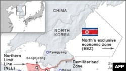 Khu vực tranh chấp giữa Bắc và Nam Triều Tiên