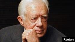 အေမရိကန္သမၼတေဟာင္း Jimmy Carter (ဧၿပီ၊ ၁၃၊ ၂၀၀၈)
