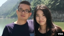 网络图片 独立作家黎学文和女友律师黄思敏