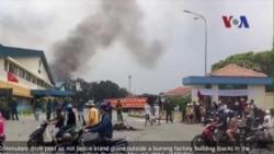 VN bày tỏ hối tiếc về bạo động tại khu công nghiệp Singapore ở Bình Dương