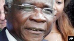 Afonso Dlakhama, presidente da Renamo