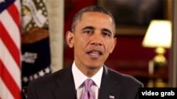 奥巴马发表谈话