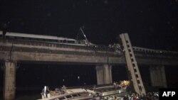 Չինաստանում երկաթուղային աղետից 33 մարդ է զոհվել