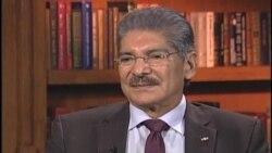 Norman Quijano habla sobre el voto en el exterior