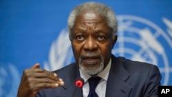 Cựu Tổng thư ký Liên Hiệp Quốc Kofi Annan.