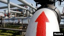 یک ایستگاه غلیظ سازی گاز طبیعی در ۳۰۰ کیلومتری کی یف، اوکراین.
