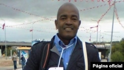 Angelo Kapuatcha - Presidente do fórum universitário e defensor dos direitos humanos Angola