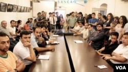 Gənclər təşkilatları Zaur Qurbanlını müdafiə edir