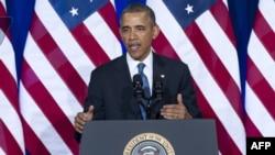 美國總統奧巴馬談國安局監聽項目改革。