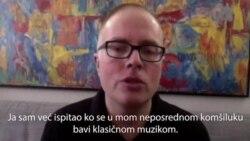 Pijanista Đorđe Nešić: Udružujem se sa umetnicima u komšiluku