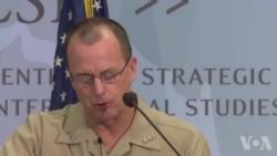 休梅克中将谈鹰眼侦察机部署日本(英文视频)