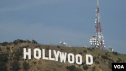 美国电影协会代表好莱坞主要制片厂(美国之音国符拍摄)