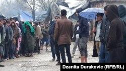 Migrantski kamp Vučjak kod Bihaća, 13. novembar 2019.