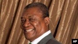 Evaristo de Carvalho, le candidat du parti au pouvoir pour les élections Août 07 à Sao Tomé-et-Principe